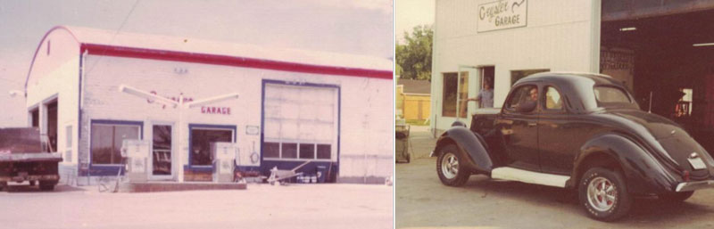 images of the Crysler Automotive Centre in the early days about the business.