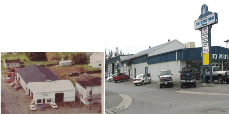 images are about the aerial photos of Crysler Automotive Centre.