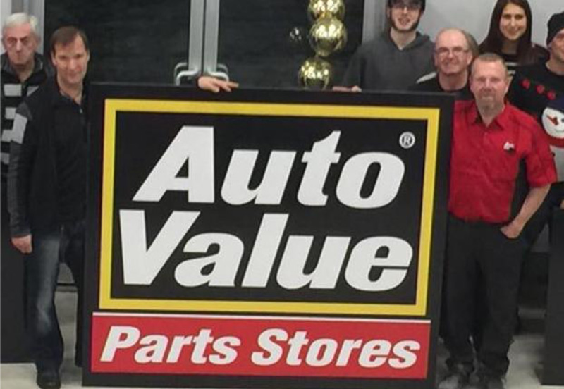 images are about the Crysler Automotive Centre Auto Value Parts store partnership with Embrun Auto Value