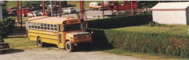 images is about the Crysler Automotive Centre bus line in 1993